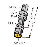 BI2-EG08-AP6X-H1341 Turck Czujnik indukcyjny