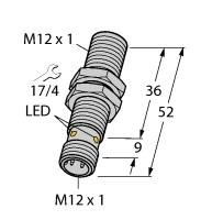 BI4-M12-AP6X-H1141 Turck Czujnik indukcyjny