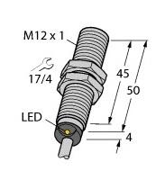 BI4-M12-AP6X Turck Czujnik indukcyjny