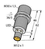 BI15-M30-AP6X-H1141 Turck Czujnik indukcyjny